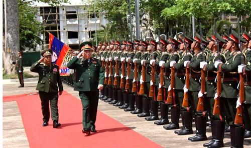 Bộ trưởng Ngô Xuân Lịch thăm chính thức nước CHDCND Lào 2