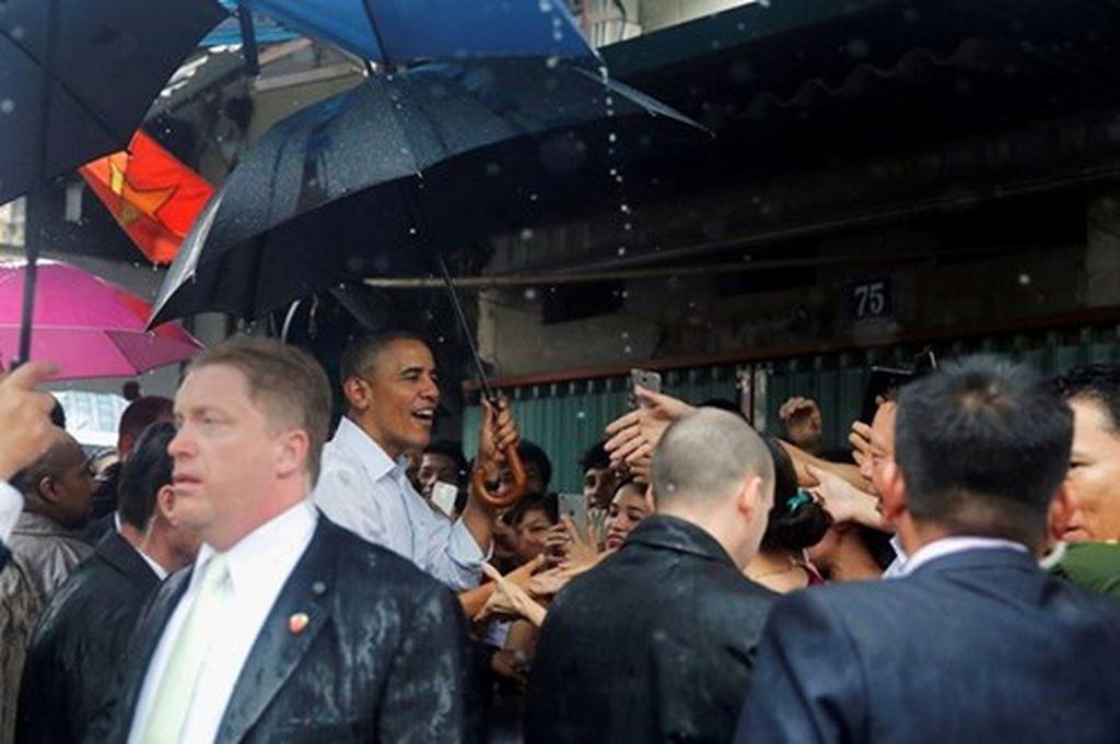 Hình ảnh ấn tượng của Tổng thống Obama trong ký ức của người dân Mễ Trì Hạ 1