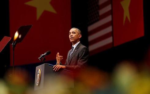 Những câu nói ấn tượng của Tổng thống Obama khi đến Việt Nam 1