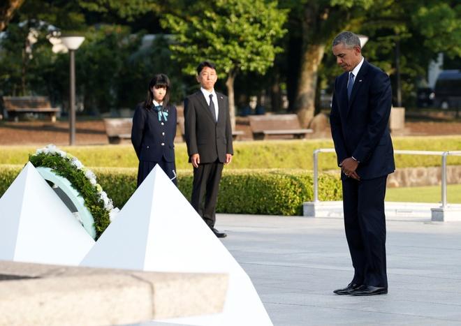 Ông Obama - Tổng thống Mỹ đương nhiệm đầu tiên thăm Hiroshima 2