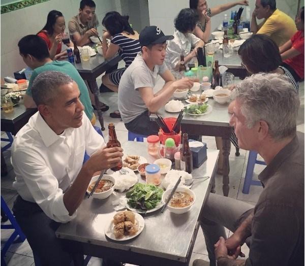 6 bí mật về bữa tối ăn bún chả ở Việt Nam của ông Obama 1