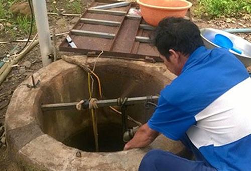 Sửa máy bơm, hai người chết ngạt dưới giếng ở Bình Thuận 1