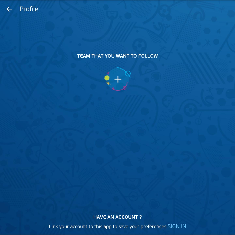 Hình ảnh UEFA EURO 2016 Official App Ứng dụng giúp cập nhật thông tin về Euro 2016 số 6