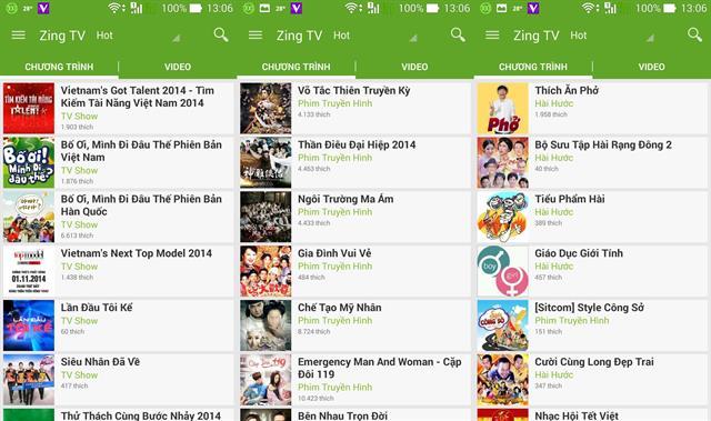 Những ứng dụng xem online tốt trên Android 4