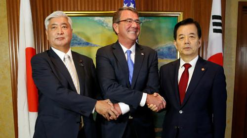 Hàn-Nhật giục Trung Quốc