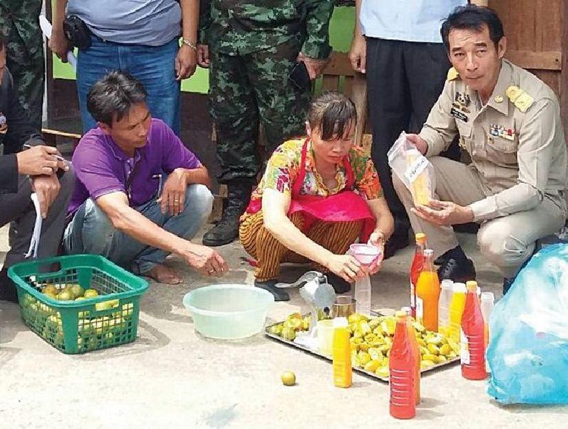 Người Việt ở Thái Lan sản xuất nước cam chứa vi khuẩn từ phân động vật bị phát hiện 1