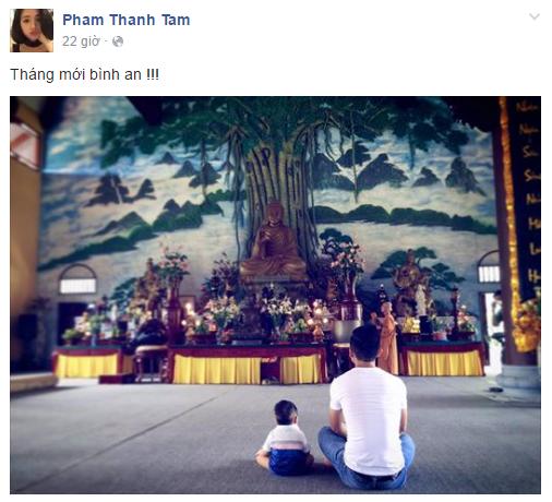 Facebook sao Việt: Angela Phương Trinh tươi tắn sau ồn ào với Ngô Thanh Vân 10