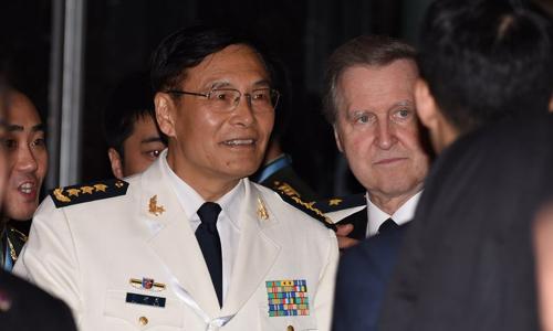 Trung Quốc bị chất vấn vì phát tờ rơi xuyên tạc Biển Đông ở Shangri-la 1