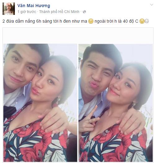 Facebook sao Việt: Angela Phương Trinh tươi tắn sau ồn ào với Ngô Thanh Vân 13