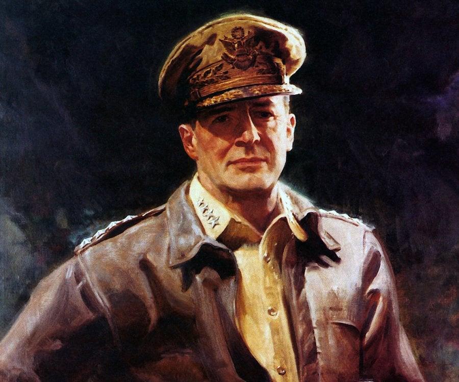 Image result for Chân dung Thống tướng Douglas MacArthur (Ảnh: Whitesimgq)
