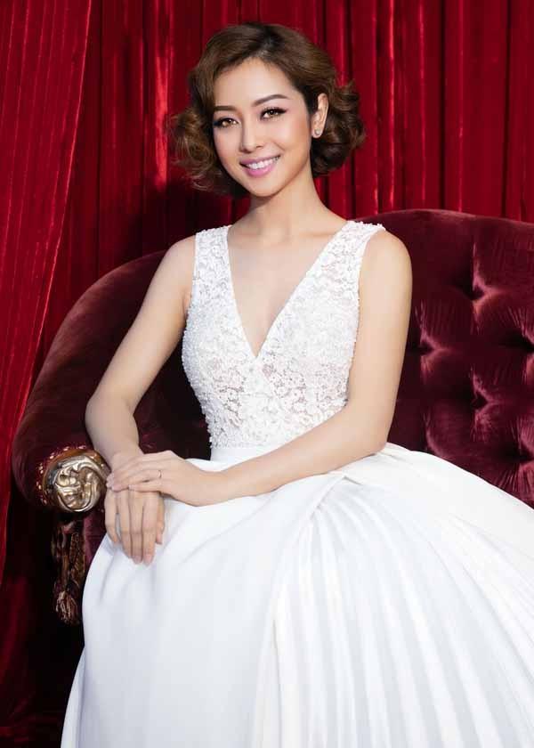 Hoa hậu Jennifer Phạm ăn chay để giữ gìn vóc dáng 1