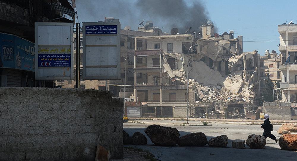 Khủng bố Syria oanh tạc Aleppo bất chấp tháng lễ Ramadan 1