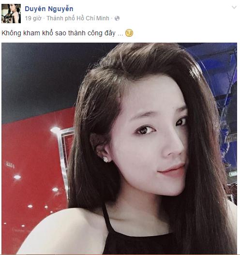 Facebook sao Việt: Lan Khuê lắc đầu khi có người phản đối kết quả của Hoa khôi Áo dài 2