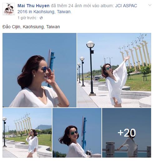 Facebook sao Việt: Lan Khuê lắc đầu khi có người phản đối kết quả của Hoa khôi Áo dài 6