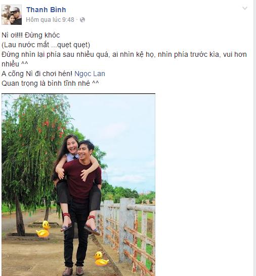 Facebook sao Việt: Lan Khuê lắc đầu khi có người phản đối kết quả của Hoa khôi Áo dài 10