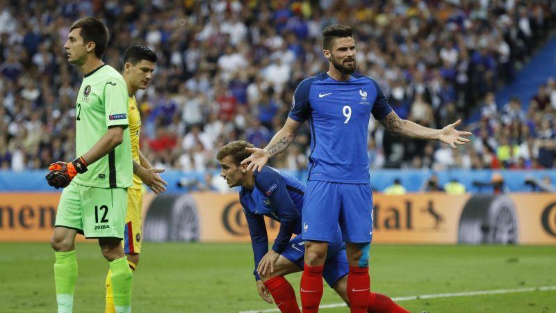 Hình ảnh Pháp thắng chật vật Romania ở trận mở màn Euro 2016 số 3