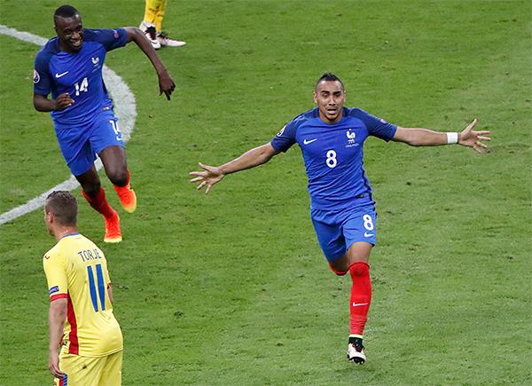 Hình ảnh Pháp thắng chật vật Romania ở trận mở màn Euro 2016 số 1