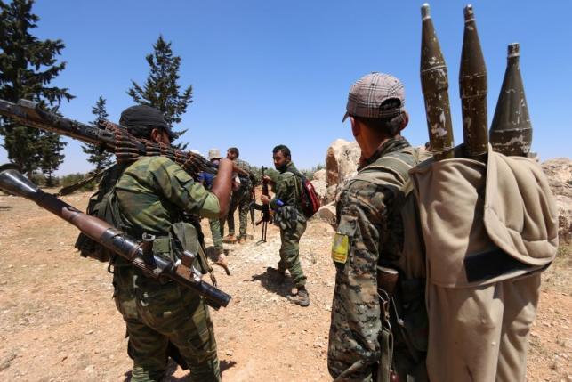 IS phản công ác liệt tại Manbij, Syria 1