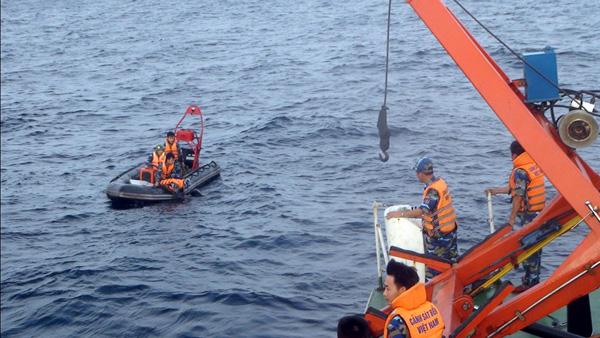 Hiện trường tìm kiếm máy bay CASA 212 mất tích 4
