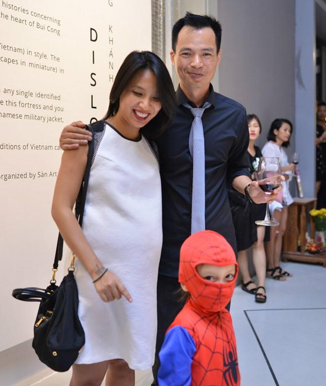 MC Thùy Minh lần đầu khoe bạn trai Tây và con trai tại sự kiện 5