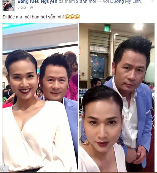 Facebook sao Việt: Hạ Vi đẹp dịu dàng, mong manh khoe bờ vai gợi cảm 2