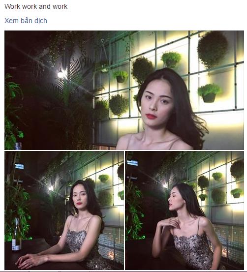 Facebook sao Việt: Hạ Vi đẹp dịu dàng, mong manh khoe bờ vai gợi cảm 1