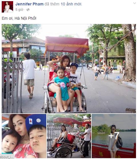 Facebook sao Việt: Hạ Vi đẹp dịu dàng, mong manh khoe bờ vai gợi cảm 6