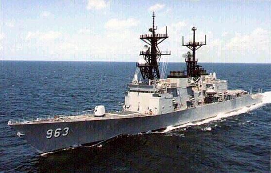 Mỹ huy động 3 tàu tên lửa hiện đại nhất tới Biển Đông 1