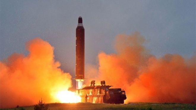 Hình ảnh Mỹ, Nhật, Hàn lần đầu tập trận tên lửa chung khiến Triều Tiên nóng mặt số 1