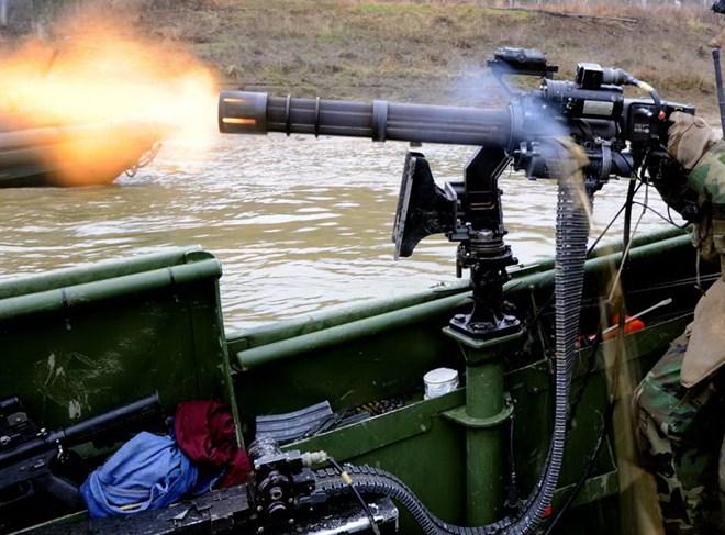 Triều Tiên trang bị súng máy của Mỹ cho tàu tuần tra 1