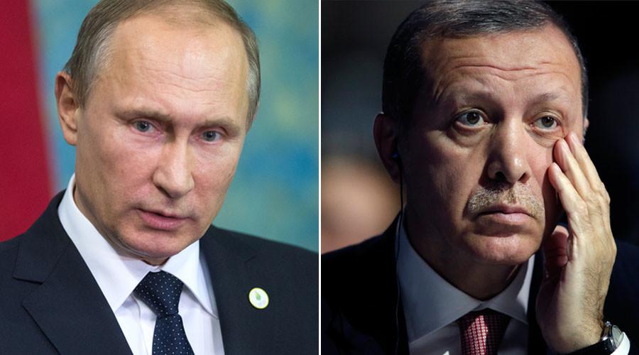 Putin lần đầu điện đàm với Erdogan sau vụ Su-24 1