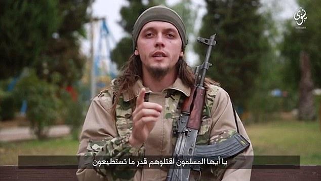 IS tung video đe dọa khủng bố Mỹ 1