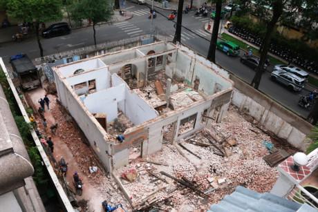 Ngôi biệt thự cổ 200 tỷ ở Sài Gòn bị đập bỏ 1