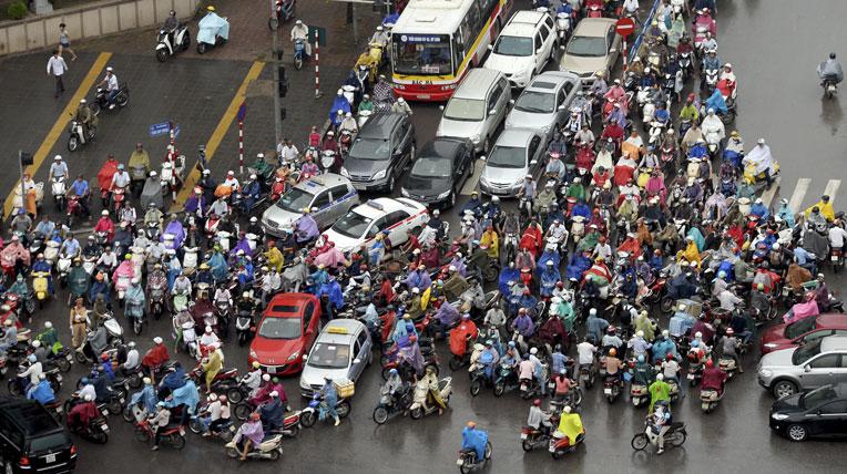 Hà Nội: Cấm xe máy hoạt động trong nội đô vào năm 2025 1