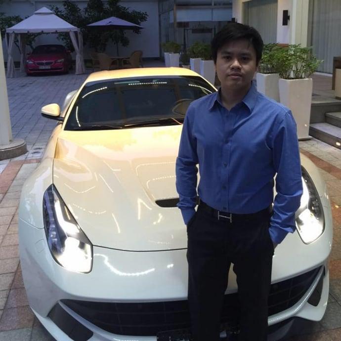 Thiếu gia Phan Thành khoe 8 siêu xe đắt tiền  5