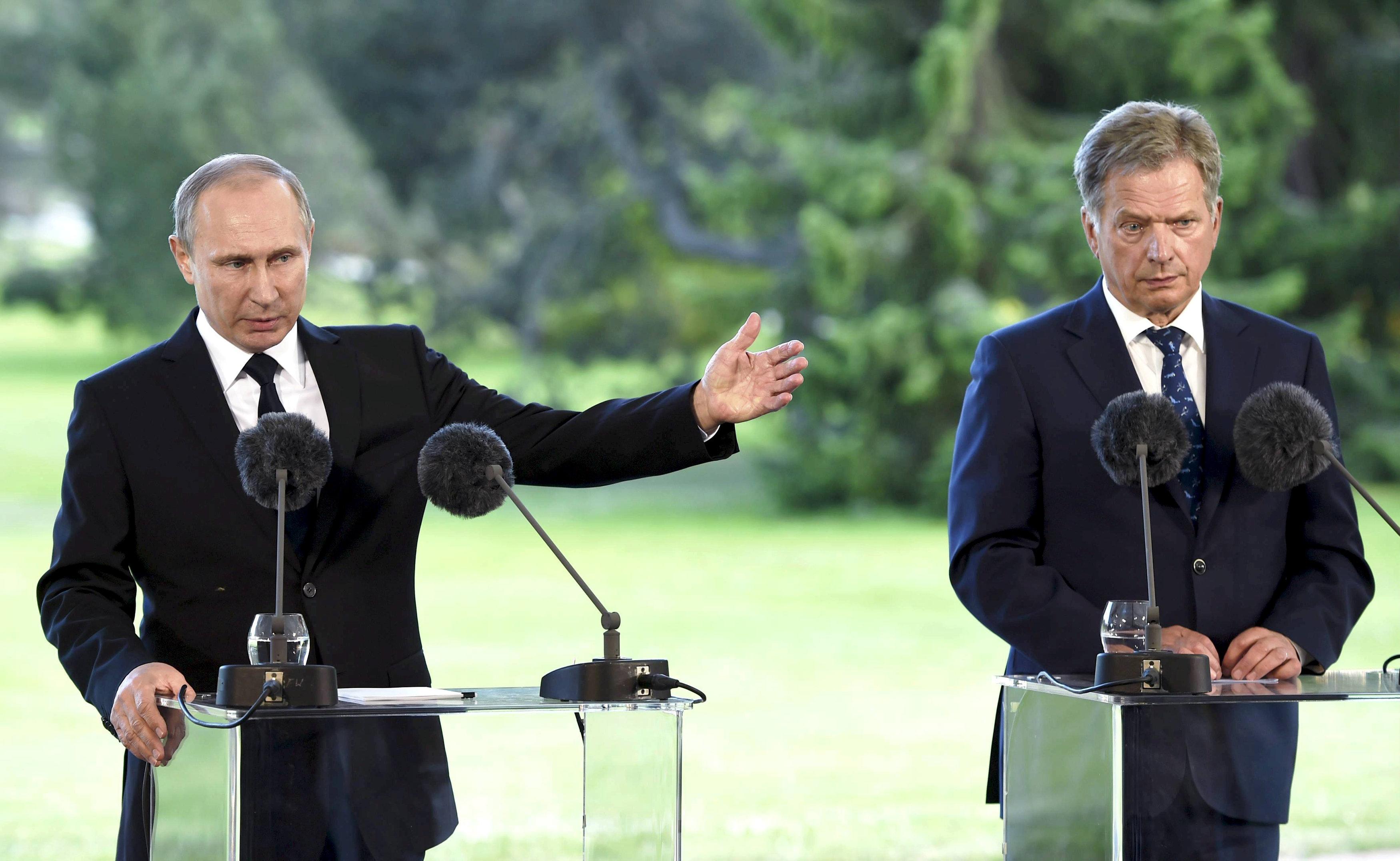 Putin tuyên bố Nga sẽ phản ứng nếu NATO thu nạp Phần Lan 1
