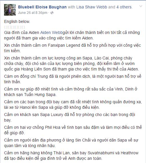 Cha mẹ du khách Anh tử nạn ở Sapa muốn trở lại Việt Nam  1