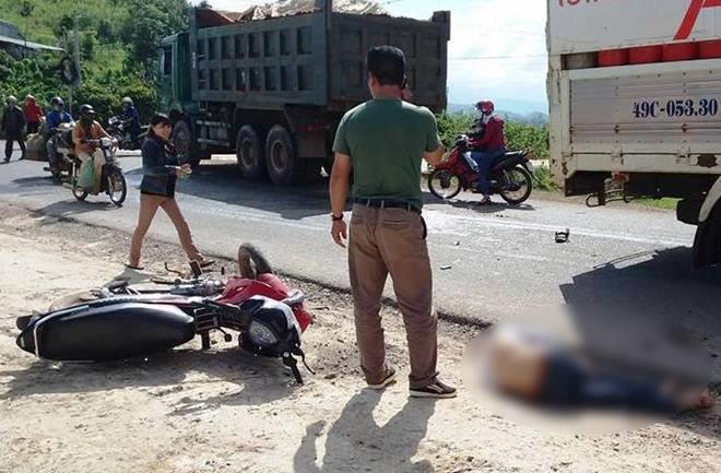 Tai nạn giao thông, nam thanh niên chết thảm 1
