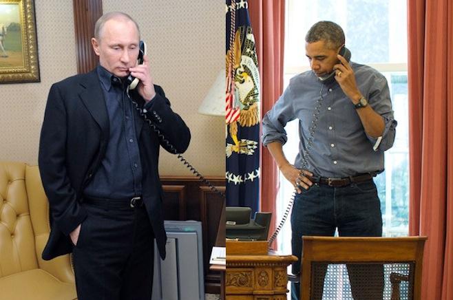 Putin gửi điện mừng Obama nhân Quốc khánh Mỹ 1