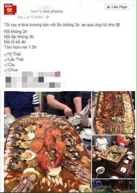 """Sự thật nồi lẩu hải sản 2 triệu """"ngập mặt"""" ở Hà Nội 1"""