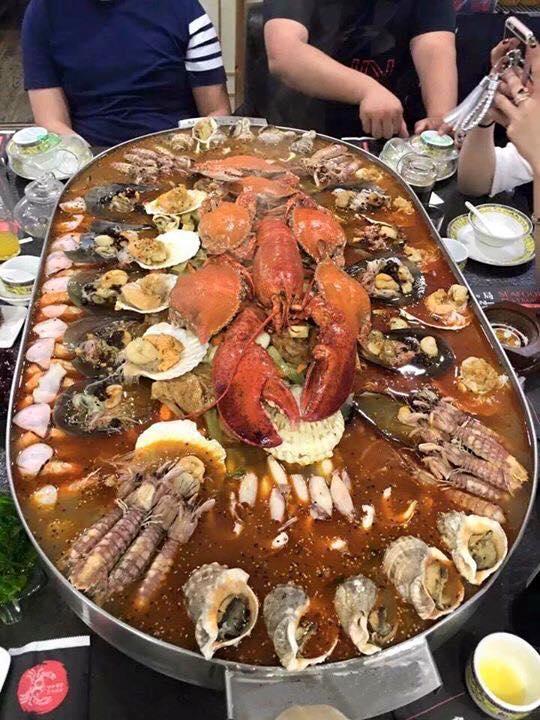 """Sự thật nồi lẩu hải sản 2 triệu """"ngập mặt"""" ở Hà Nội 2"""