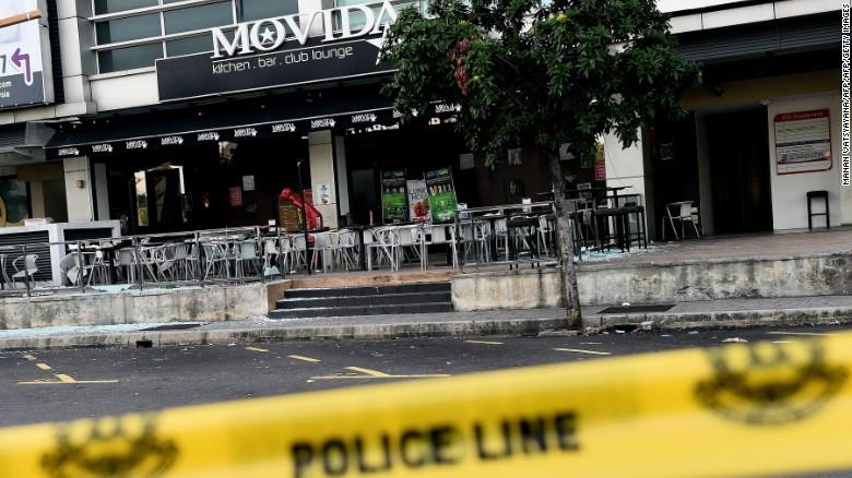 IS lần đầu tấn công Malaysia 1