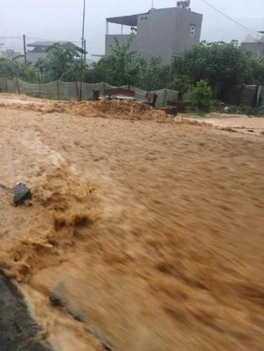 Chùm ảnh: Quảng Ninh ngập lụt sau trận mưa lớn kéo dài 2