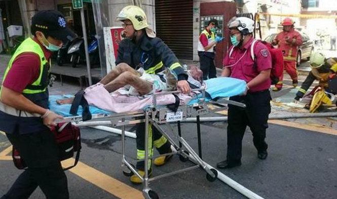 Đài Loan: Viện dưỡng lão cháy rụi, hàng chục người thương vong 5
