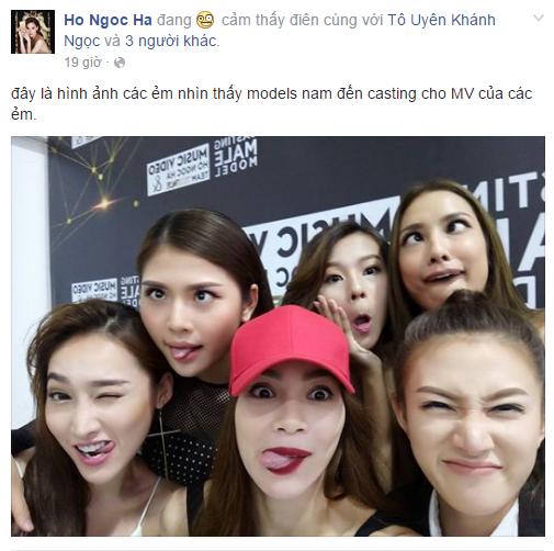 Facebook sao Việt: Đông Nhi đọ nhan sắc bên hoa hậu Thu Thảo 3