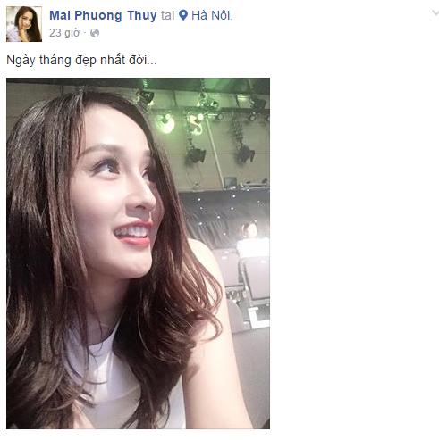 Facebook sao Việt: Đông Nhi đọ nhan sắc bên hoa hậu Thu Thảo 6
