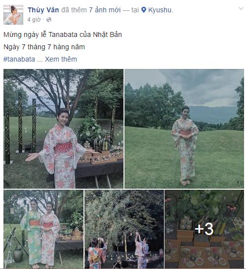 Facebook sao Việt: Đông Nhi đọ nhan sắc bên hoa hậu Thu Thảo 11