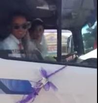 Giải trí - Clip rước dâu bằng xe cẩu ở Nghệ An