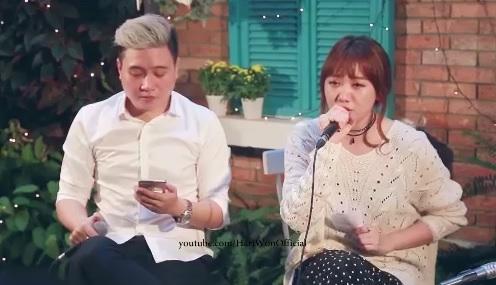 Hari Won hát mộc 'Anh cứ đi đi' phiên bản tiếng Hàn 1