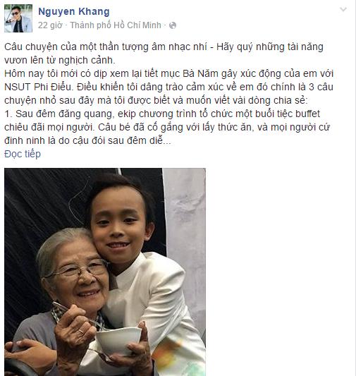 Facebook sao Việt: Fan choáng với ngoại hình khác lạ của Hương Giang Idol 9